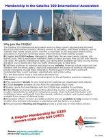 Membership benefits flyer